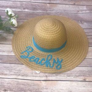 Accessories - Straw Floppy hat